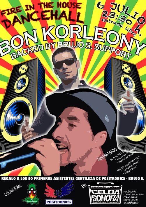 Bon Korleony - Cartel Sabiñanigo