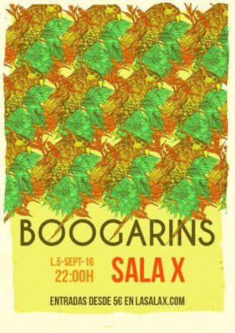 Boogarins en SALA X