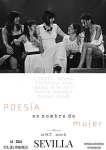 Poesía es nombre de mujer en La Sala @ La Sala   Sevilla   Andalucía   España