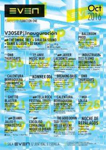 Conciertos en Sala Even @ Sala Even | Sevilla | Andalucía | España