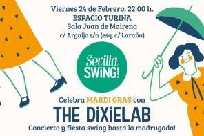 Celebra Mardi Gras con Sevilla Swing! en el Espacio Turina
