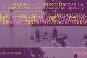 Tu Otra Bonita y Club del Río se presentan en FunClub