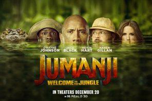 ''Jumanji: bienvenidos a la junga'' Game over