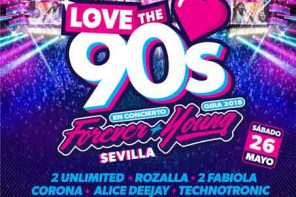 Love the 90's en Sevilla