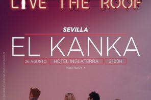 El Kanka en la azotea de LTR Sevilla