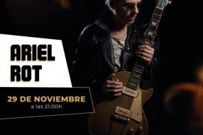 Ariel Rot en concierto en el Box Cartuja