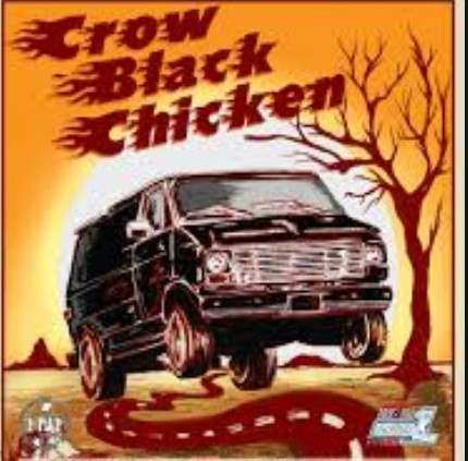 Carretera y manta CROW BLACK CHICKEN