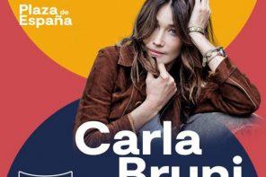 Iconica Fest presenta a Carla Bruni en la Plaza de España